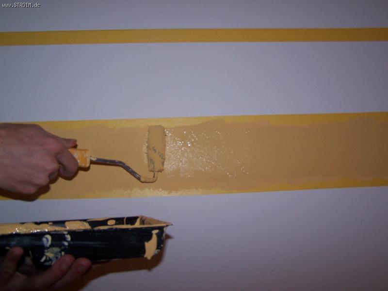 Секреты покраски стен