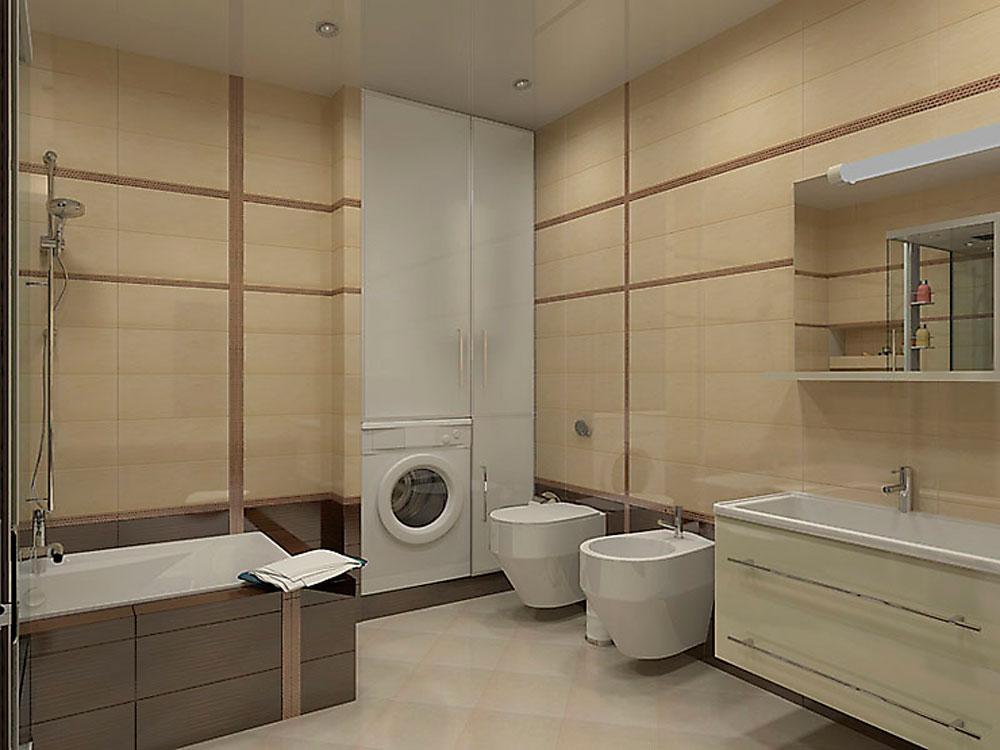 Квартира с большой ванной комнатой