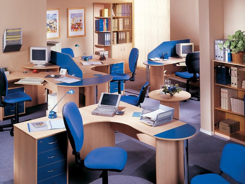 Отличия офисной мебели и ее категории