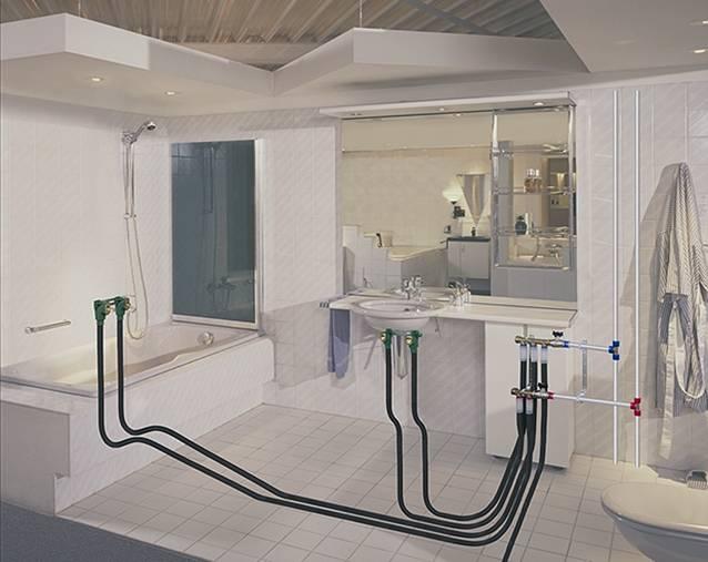 Проведение водопровода в квартире