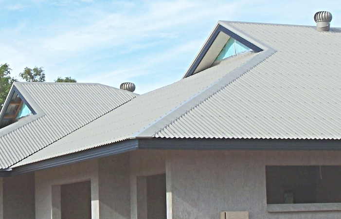 Шиферная крыша - монтаж и укладка