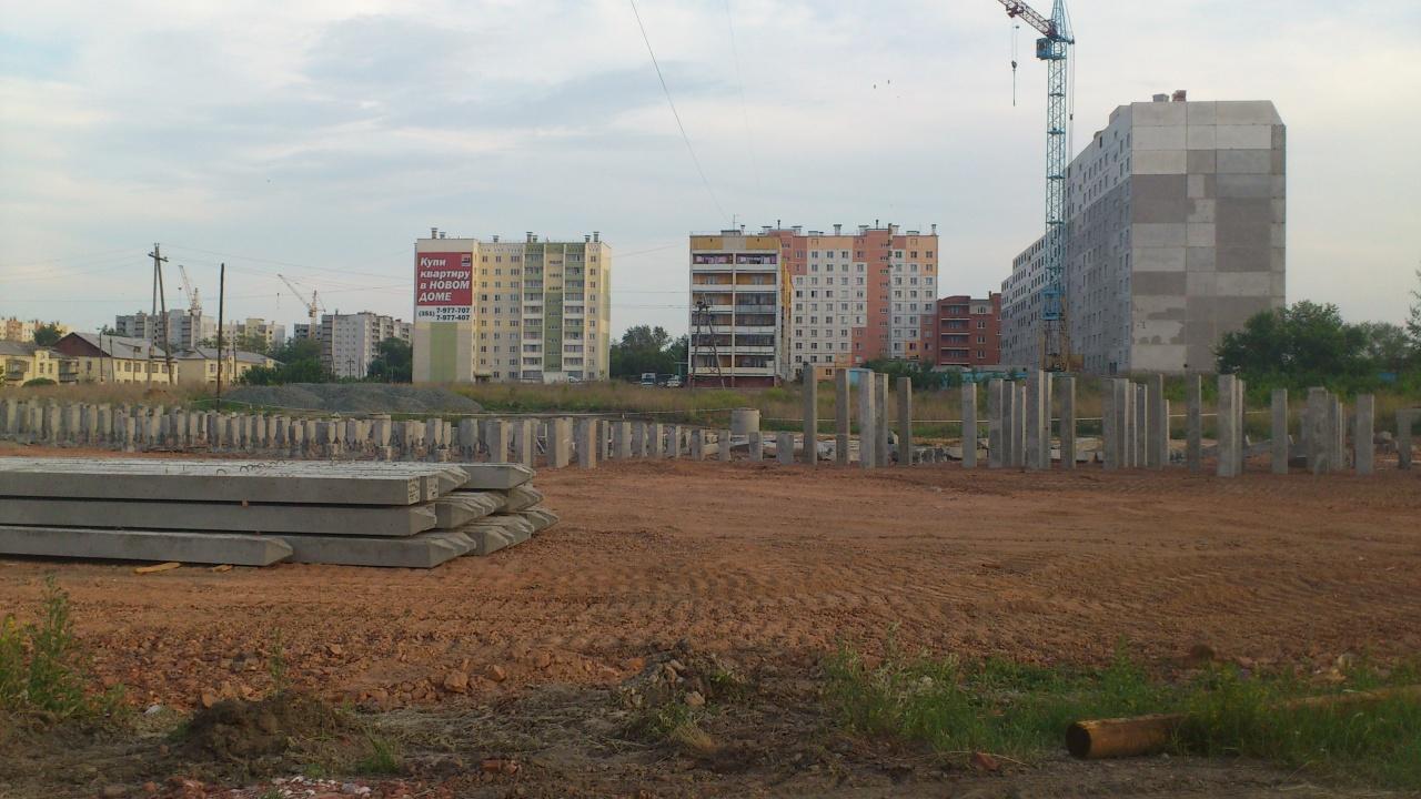 Стройки в Челябинске занимают лидерские места в рейтинге