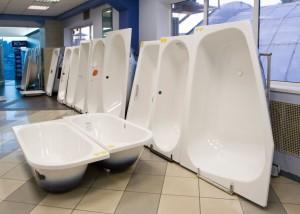 Объем российского рынка сантехнических ванн увеличился