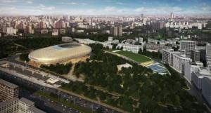 Парк «Динамо» в Москве откроют в 2017 году