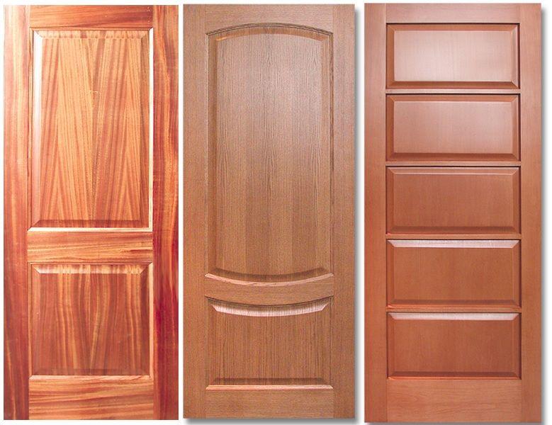 Типы покрытий межкомнатных дверей