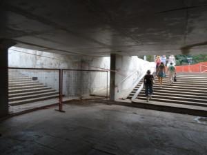 Завершается строительство подземного пешеходного перехода через Дмитровское шоссе