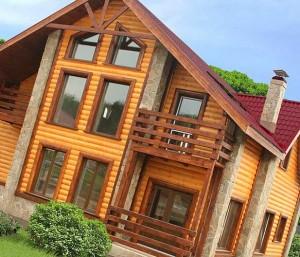 строительство финского деревянного дома