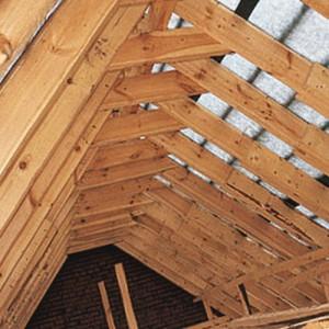 конструкция крыши мансарды