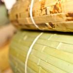 Обои из натуральных растительных материалов: этника или хай-тек?