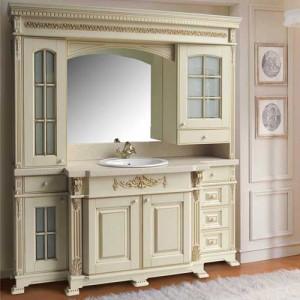 Мебель для ванной комнаты в ретро стиле