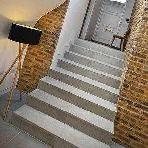 Дизайн бетонной лестницы в частном доме